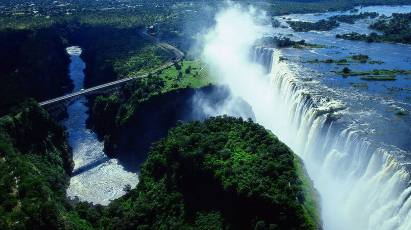 Водопад «Виктория» в ЮАР